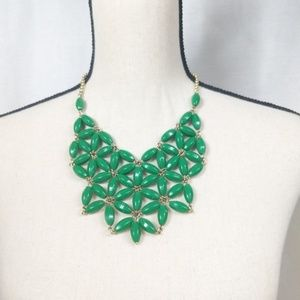 J. Crew Emerald Green Necklace